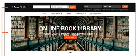 design online library book library website template jipsportsbj info
