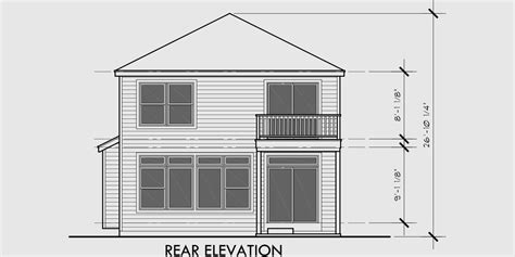 two story house plans for narrow lots small lot house plans two story home design 2017