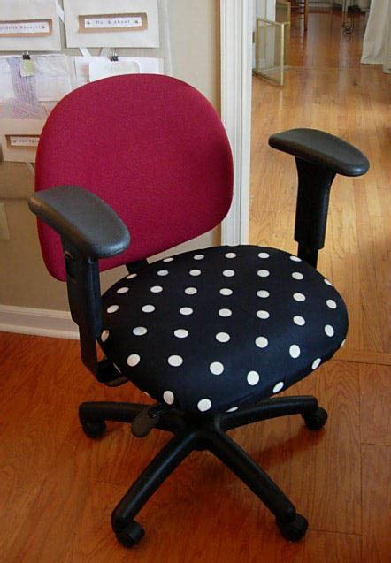 Office Chair Cover Designs Diy Office Chair Makeover With Fabric In My Own Style