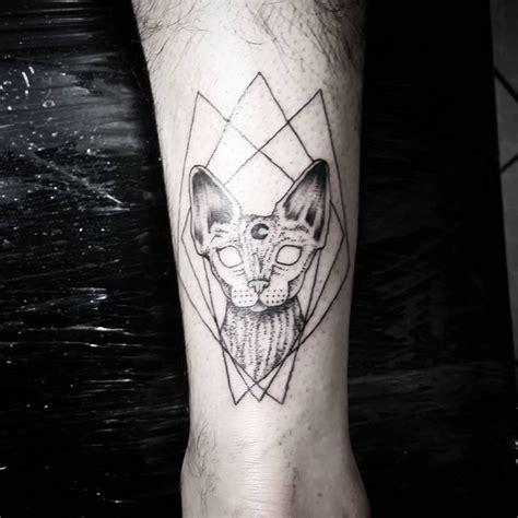 sphynx tattoo dkjordao darkjordao sphynx cat solarstudio