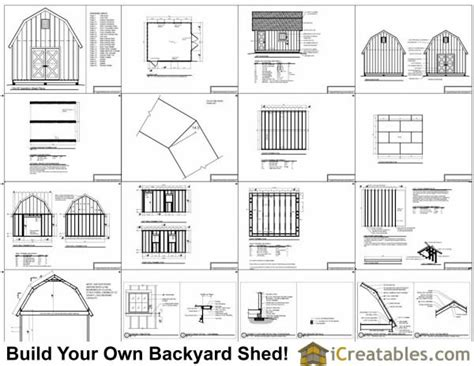 14x16 gambrel shed plans 14x16 barn shed plans 14x16 gambrel shed plans 14x16 barn shed plans
