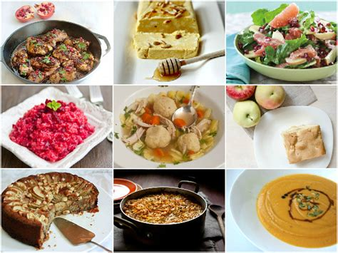 traditional rosh hashanah foods recipes food
