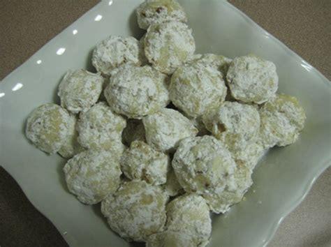 Wedding Cake Cookies by Mexican Wedding Cake Cookies Sacfoodies