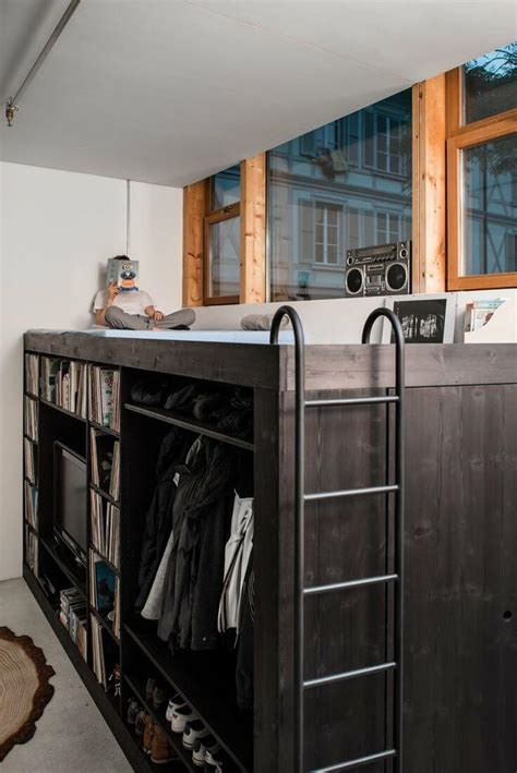 loft beds for studio apartments 12 awesome beds in tiny spaces apartment geeks