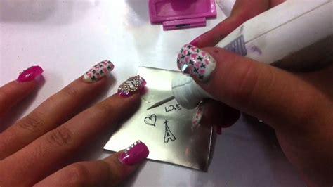 imagenes de uñas pintadas con sellos como hacer placas para estar u 241 as diy how to make