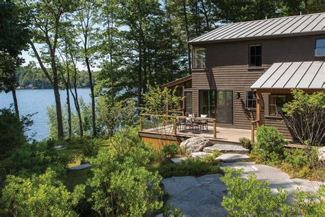 maine home design all for the lake whitten architects maine home design