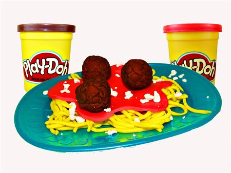 Pasta Sauce Ideas by Play Doh Spaghetti Play Dough Food Meatballs And Clay