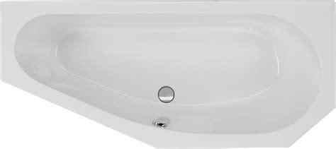 badewanne asymmetrisch badewanne asymmetrisch 170 x 75 cm trapez badewanne