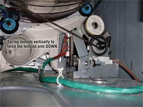 samsung dryer belt replacement diagram how do i change a belt on a samsung front load dyrer model
