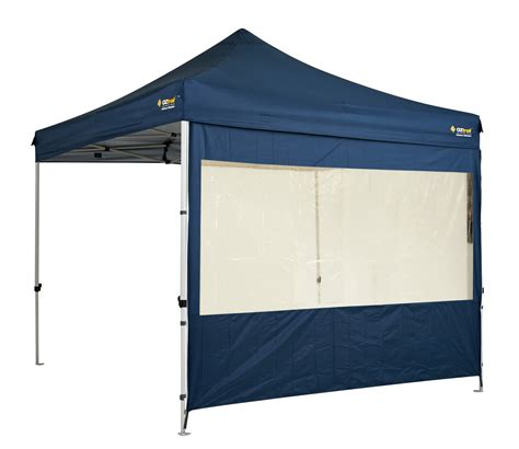 gazebo heavy duty oztrail gazebo solid wall kit heavy duty blue pvc ebay