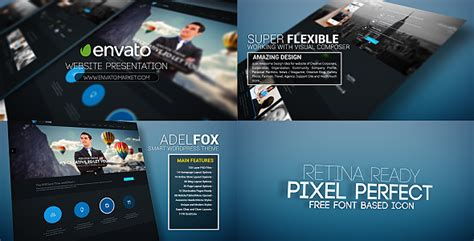 Videohive Website Promo Presentation Free Download Free After Effects Template Videohive Website Promo After Effects Template Free