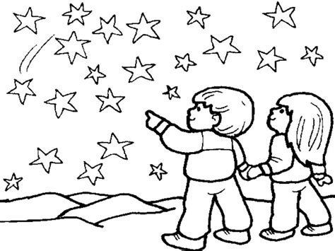 stars in the sky coloring pages www pixshark com