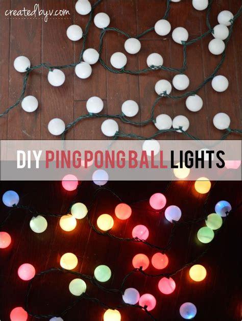 diy light balls diy ping pong lights hometalk