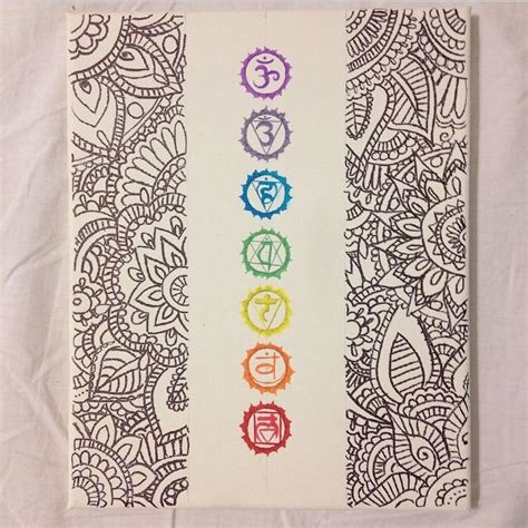 henna design on canvas chakras canvas and henna design by warmteardrops on deviantart