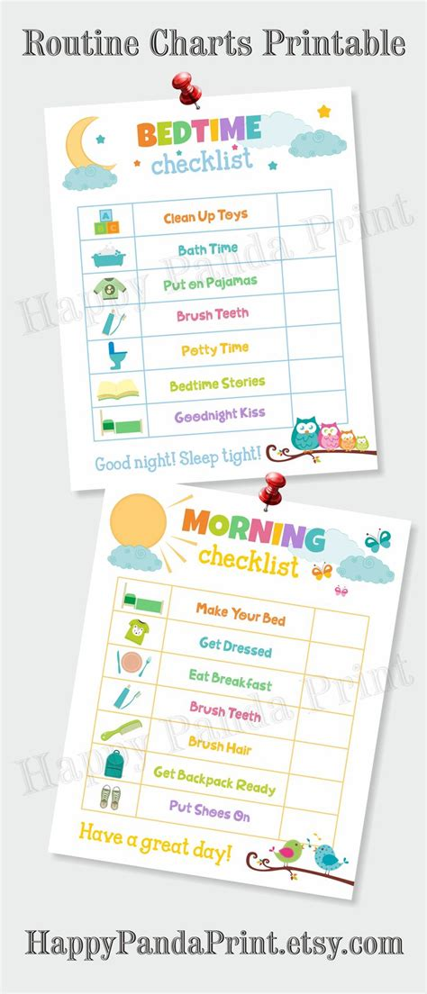 printable toddler daily routine the 25 best morning routine checklist ideas on pinterest