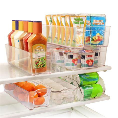 Kitchen Refrigerator Organizer Refrigerator Freezer Storage Food Containers Organizer