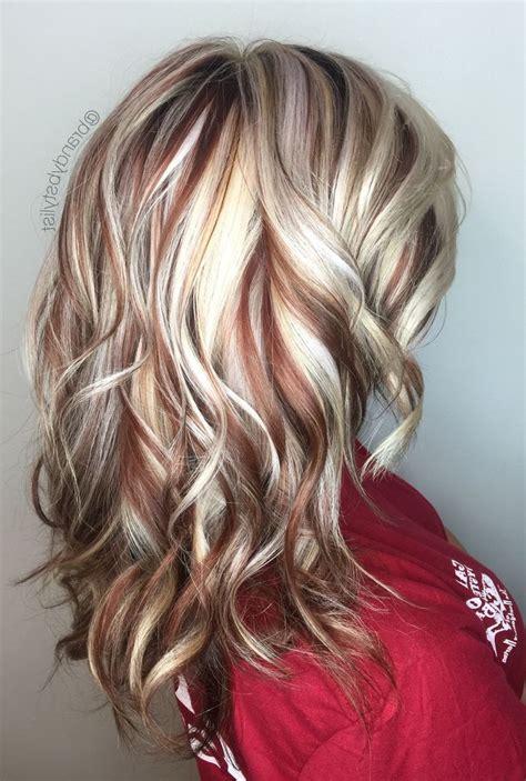 red blonde highlights ideas  pinterest blonde