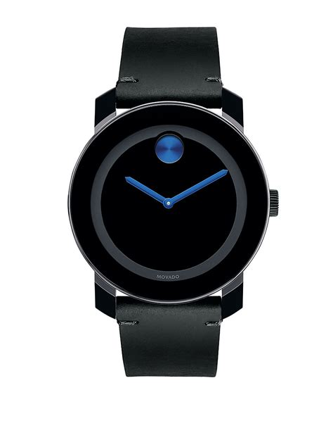 movado bold bold tr90 stainless steel in black lyst