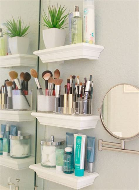 Bathroom Floating Shelves 35 Floating Shelves Ideas For Different Rooms Digsdigs