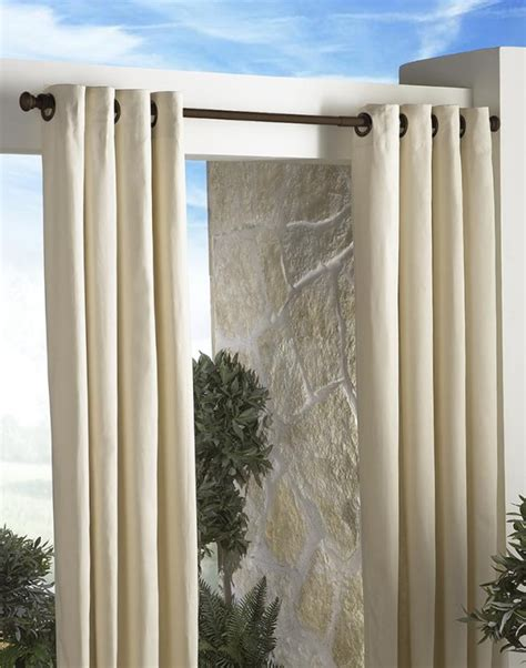 Outdoor Shower Curtain Rod by Outdoor Shower Curtain For Cer Home Design Ideas