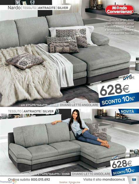 offerte divani angolari in tessuto elegante 4 mondo convenienza divani letto angolari in