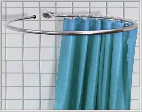 circular shower curtain round shower rod signature hardware for any shower