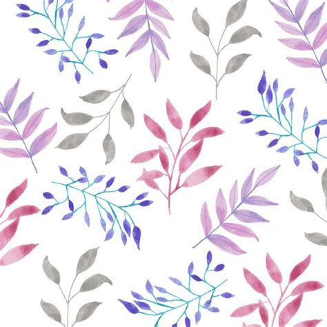 watercolor flowers pattern vector free download watercolor floral pattern design background pattern