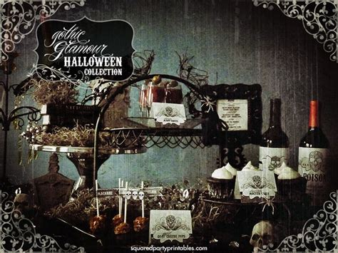 gothic decorating ideas gothic victorian halloween bling party halloween party