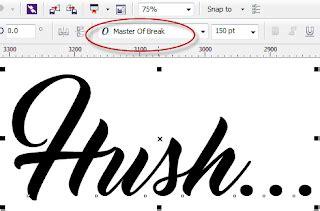 cara membuat outline font 2 cara membuat garis tepi outline di coreldraw guru corel