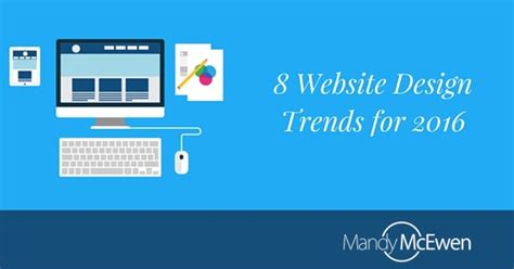 homepage design trends 8 website design trends for 2016