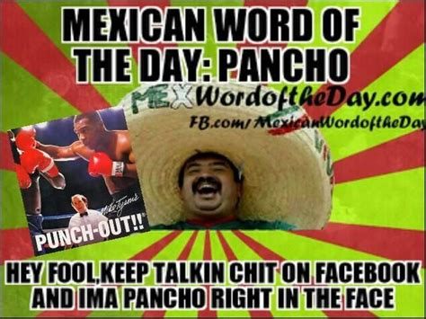 Spanish Word Of The Day Meme - 43 best images about mexican word of the day on pinterest