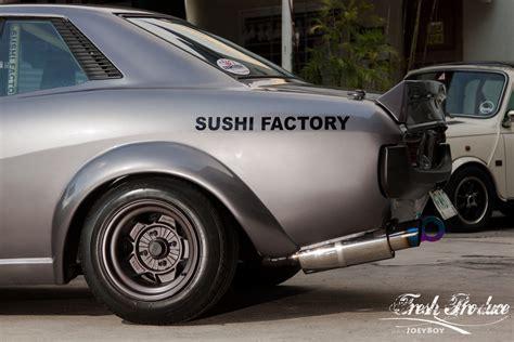 Toyota Sushi Natsuki The Sushi Factory Experiment Fresh Produce