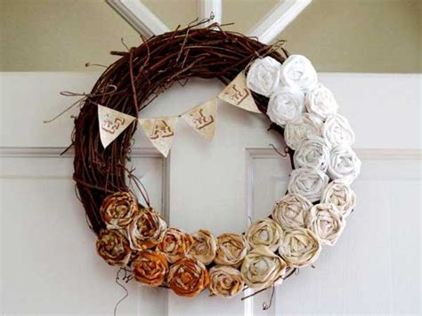 diy wreath ideas top 38 amazing diy fall wreath ideas with full tutorials