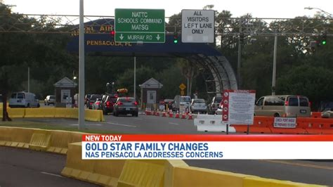 nas pensacola gold star family seeks change after denied access to nas
