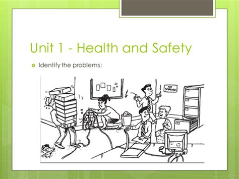 classroom layout health and safety gcse ict theory health and safety in the workplace by