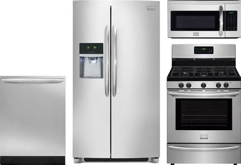 uncategorized frigidaire gallery kitchen appliance frigidaire gallery 4 piece kitchen package with dggf3045rf