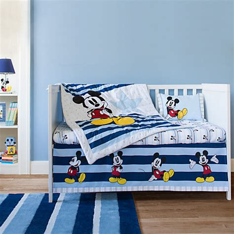 Mickey Mouse Clubhouse Crib Set by Magical Mickey Mouse Nursery Adorable Bedding And Decor