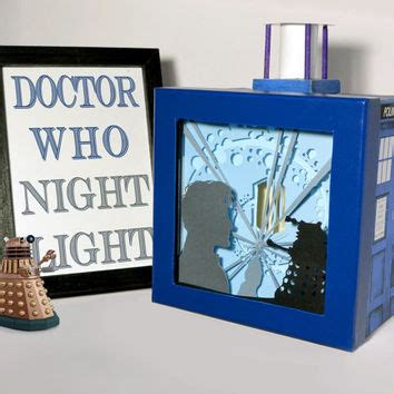 doctor who bathroom decor doctor who shadow box with light from fairy cherry