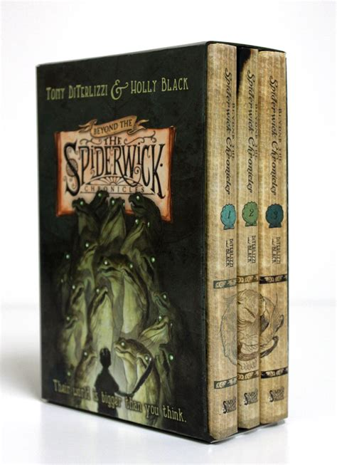 the chronicles books beyond the spiderwick chronicles boxed set book by