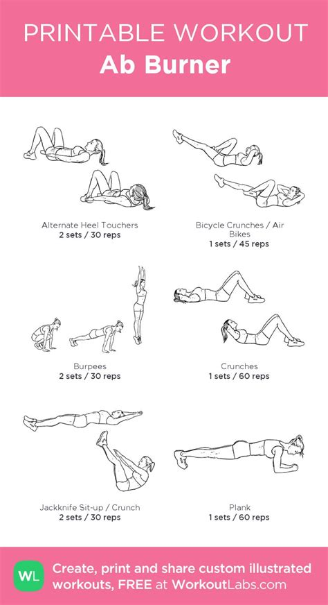 180 best free printable workouts images on fitness plan work outs and exercise plans