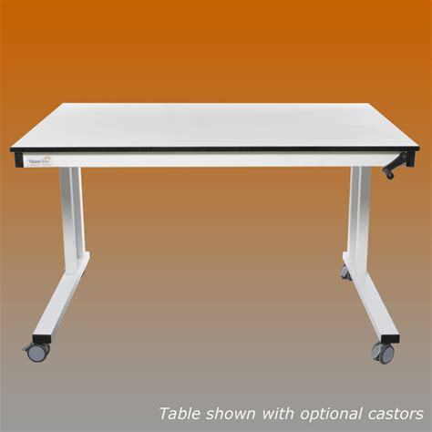 Lab Tables by 1200mm Crank Handle Lab Table