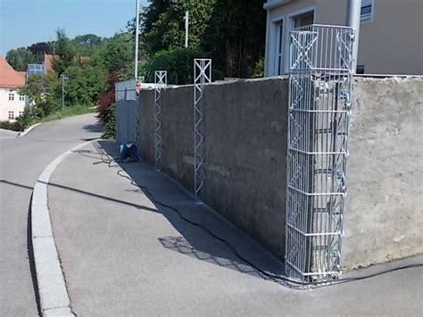 Wie Befestigt Gabionen by Mauer Vorher Nachher Optimal Aufgewertet Mit Gabionen