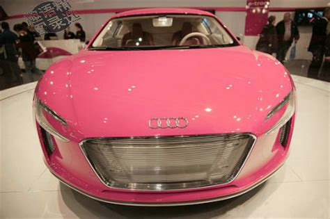 pink audi motor cars and bikes pink audi car for girls