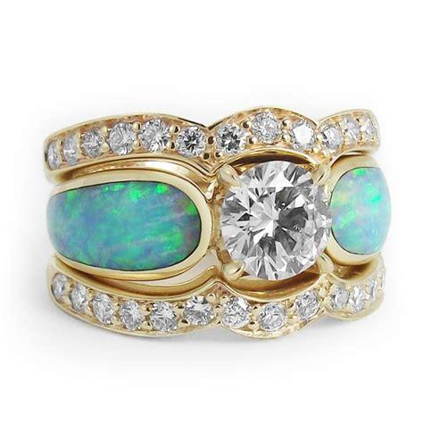 quot sunlit sea radiance quot one carat and opal