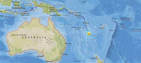 earthquake new caledonia magnitude 6 8 earthquake strikes near tadine new
