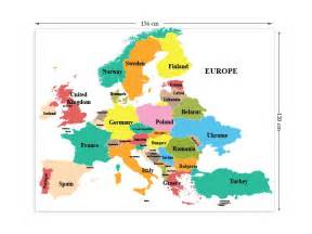 Large Map Of Europe by Image Gallery Large Map Of Europe