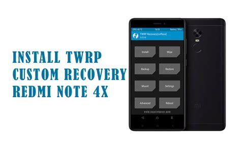 Xiaomi Redmi Note 4x Mido install twrp custom recovery on xiaomi redmi note 4x