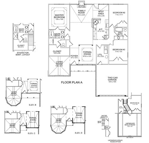 ball homes floor plans floor plans whitney ii kentucky homes for sale