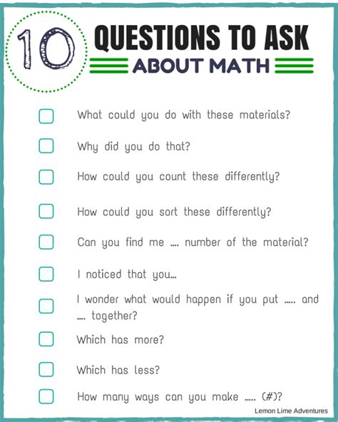 math questions to ask preschoolers