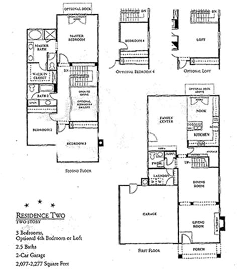 hanover colony floorplans